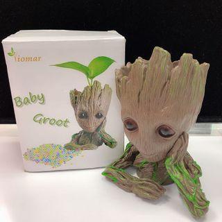 全新 Groot造型盆栽