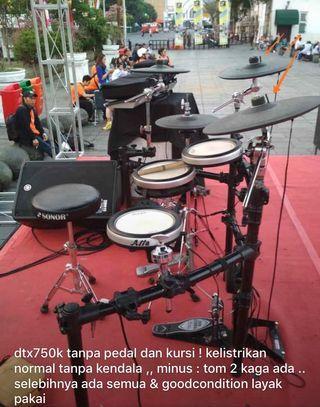 Yamaha DTX750K Electric Drum
