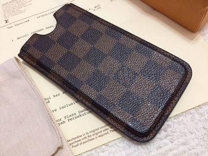 Authentic Louis Vuitton iphone case 6 / 7 / 8