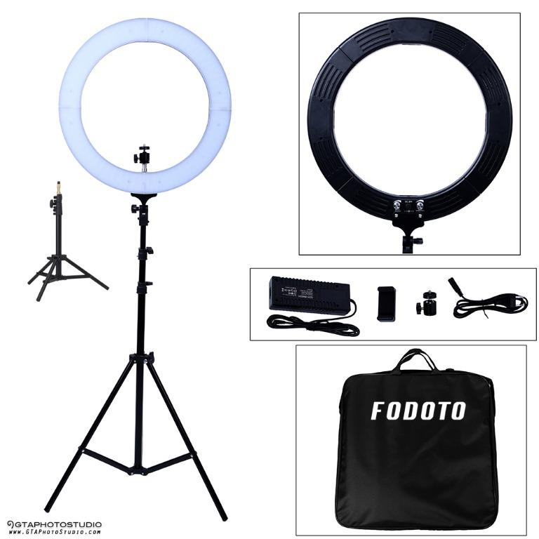 18 inch LED Diva Ring Light Kit (7ft Stand & Table Top Stand Included) BRAND NEW!!