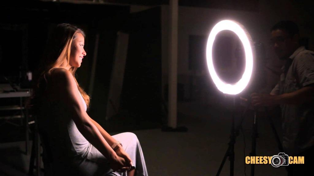 13(inch) LED Ring Light Kit (GREAT FOR SELF TAPES, YOUTUBE & MORE)
