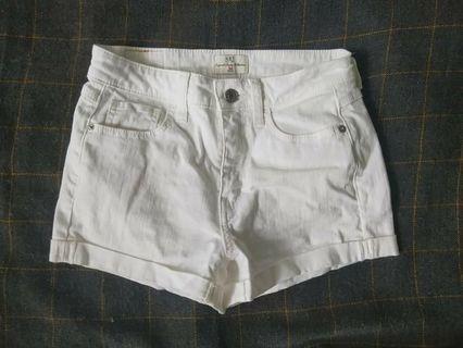 NET白色平底褲(接近全新)