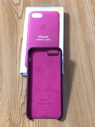 iPhone 8/7 原廠皮革保護殼