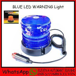 BLUE LED WARNING LIGHT