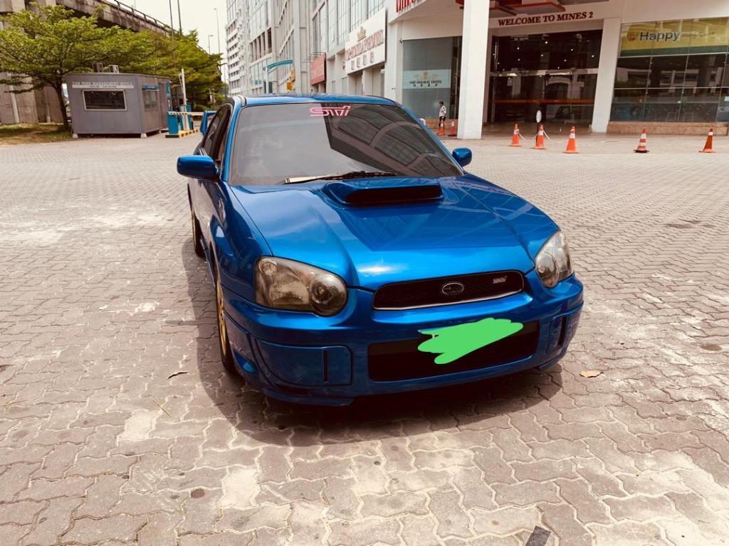 2003 Subaru IMPREZA 2.0 WRX STi (M)