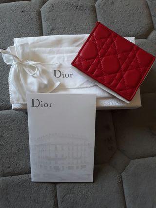 Lady Dior lambskin