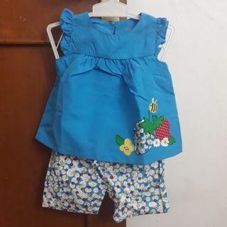 Mothercare Baju Set Bayi Perempuan