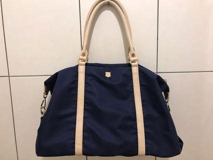 日本品牌 Macaronic Style 2Way 手提 肩側後背包 2用水餃包