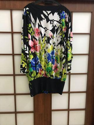 Set blouse with skirt