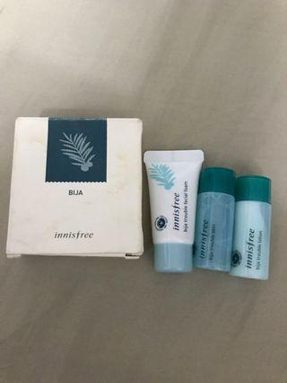 Innisfree Bija Skincare Trial Kit #1010