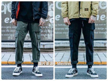 六口袋 工作褲 (購買自MeWei)
