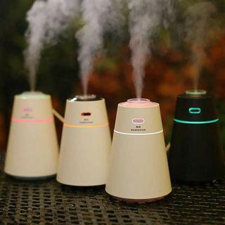 🍀水氧幾 加濕器 香薰機 M3迷你加濕器 七彩夜燈加濕器