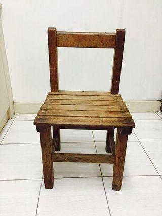 古早傳統小一學校課堂椅 ^_^   復古風格