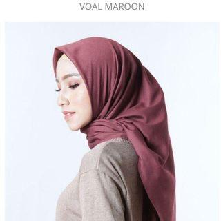 Hijab voal basic restu anggraini
