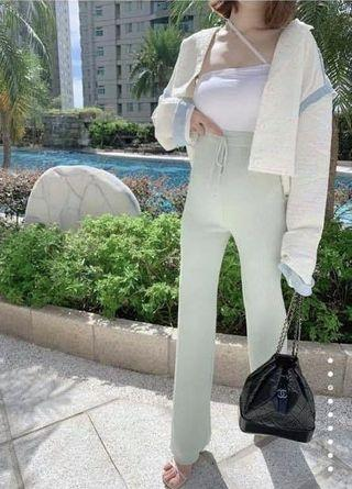 轉賣funniki(chumii)全新秋裝新款小香風混色單寧外套
