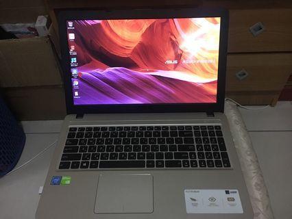 筆電ASUS X540M