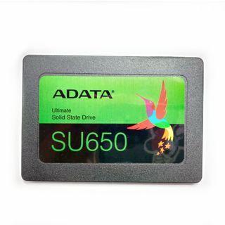 近全新 威剛 ADATA SU650 480G SSD 2.5吋固態硬碟
