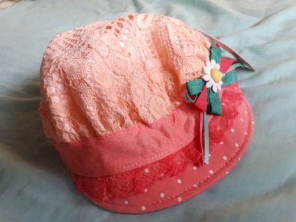 cute baby girl hat (free with other purchases of kids items in my listings)