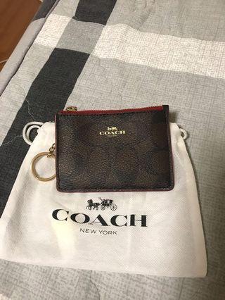 Coach鑰匙零錢包