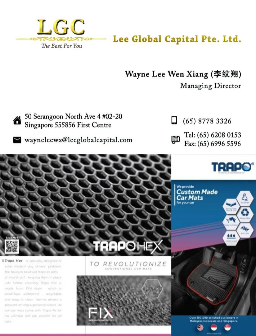 >530 🙂 Reviews for Customized Quality EVA Car Mat in Asia (TRAPO Hex)