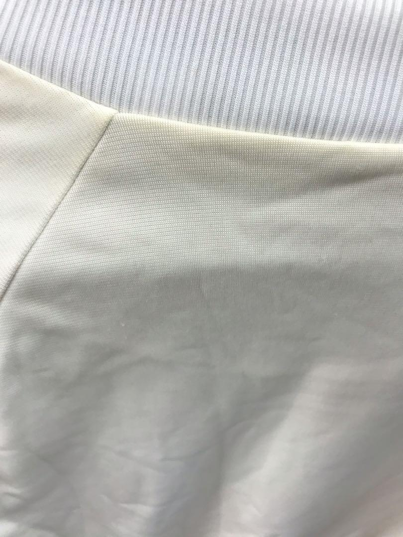 愛迪達白色外套