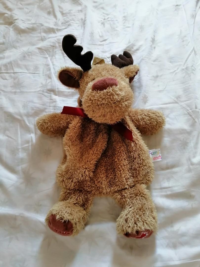可愛小鹿背包。聖誕一流。#happykids