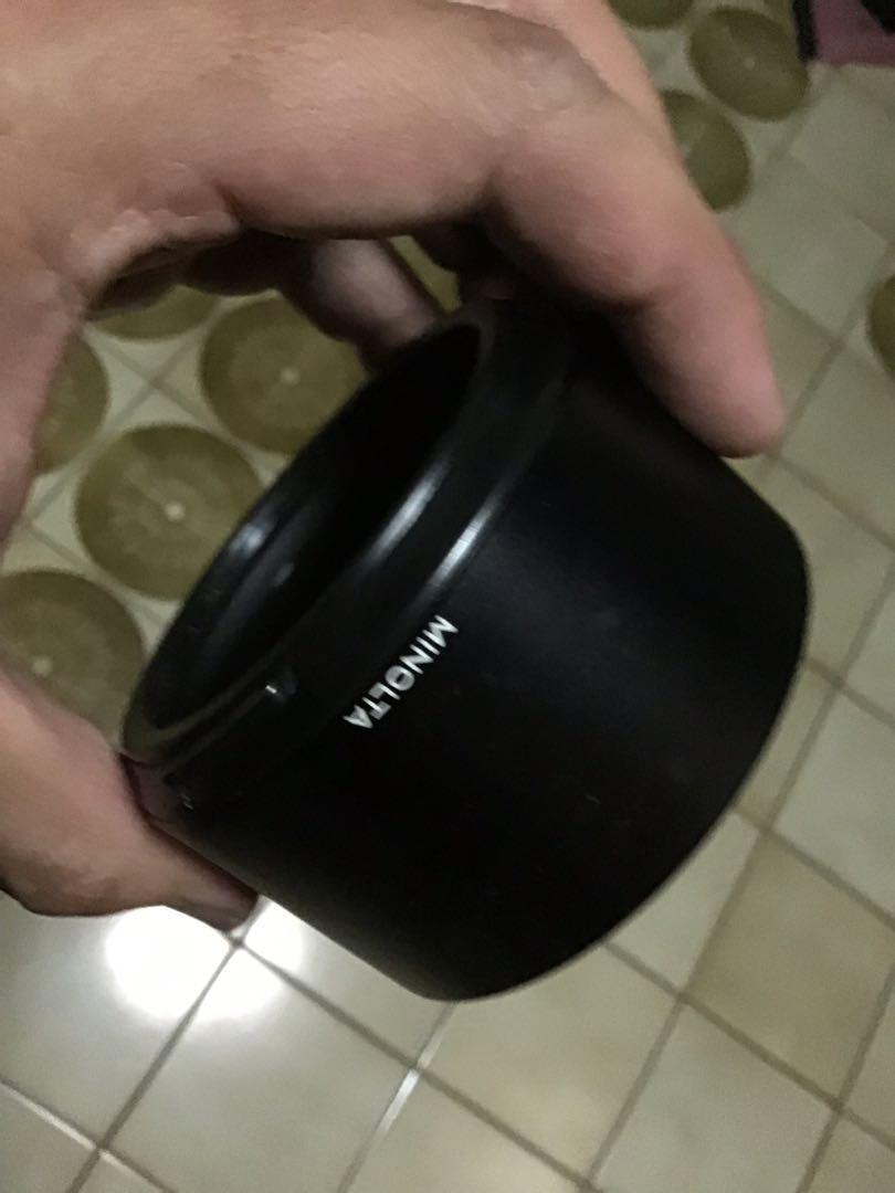 遮光罩 金屬用不含鏡頭 Minolta 70 210mm f4 af for Sony a 美品