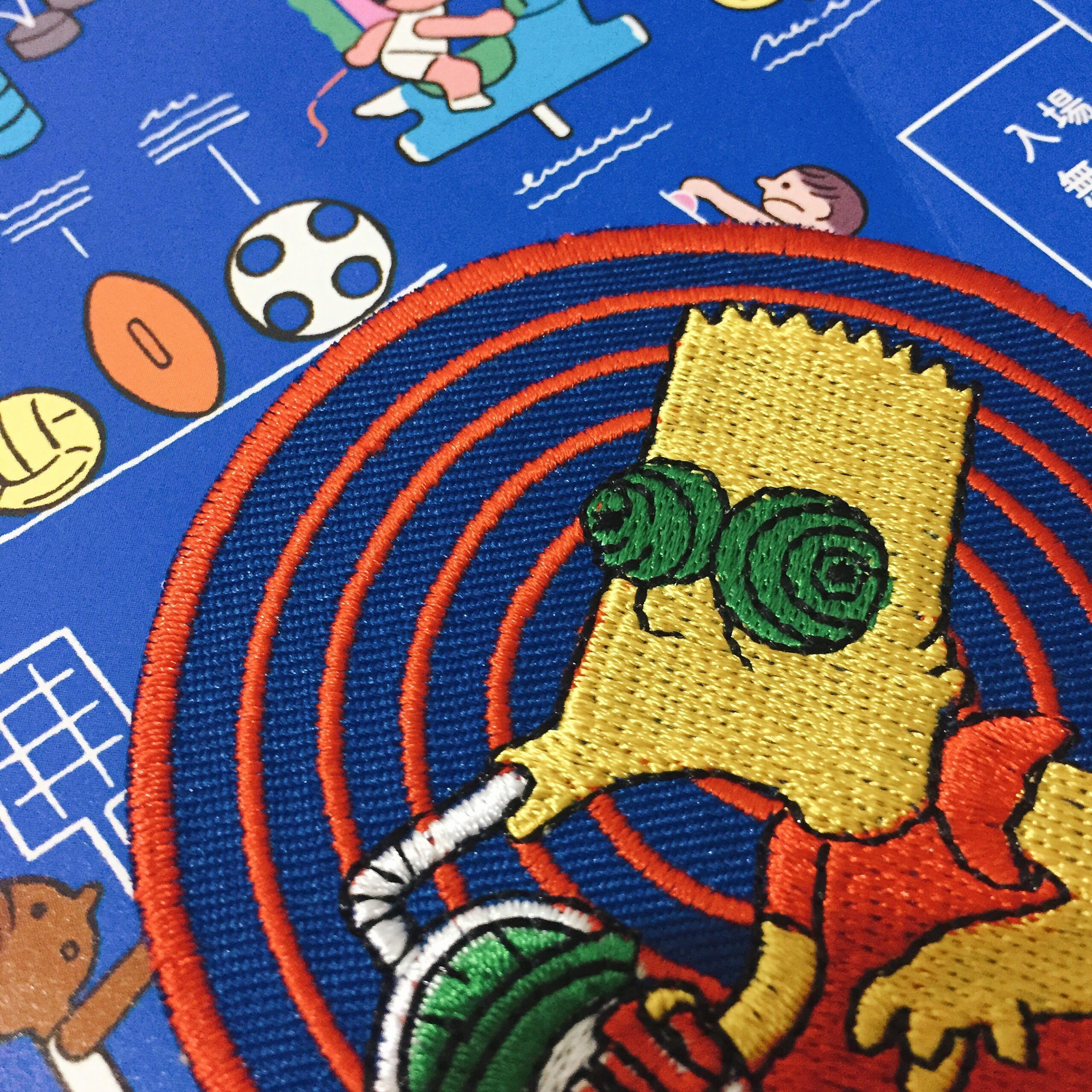 「💫11/17市集出攤確認!搜尋🔍台灣玩具特區」辛普森 the simpsons' 燙布貼
