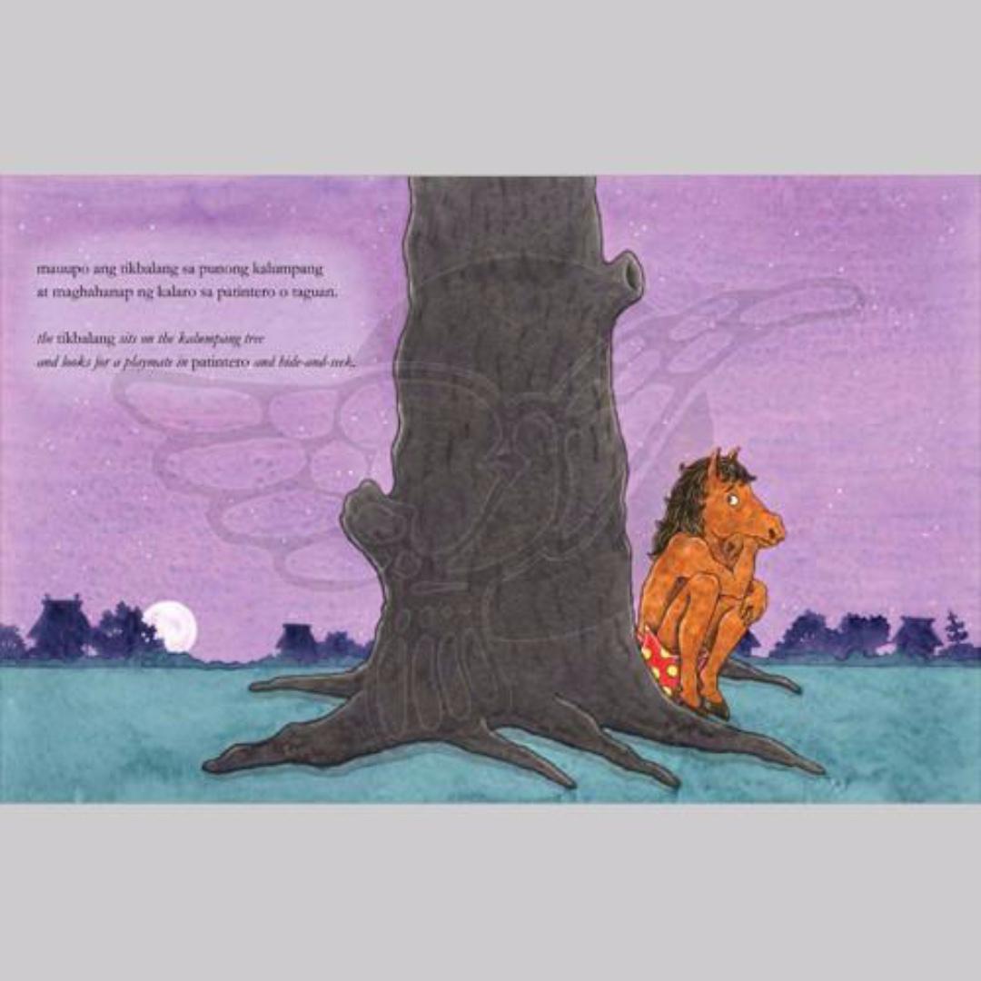 Ang Tikbalang Kung Kabilugan ng Buwan | Adarna House | English Filipino Bilingual | Children's Book
