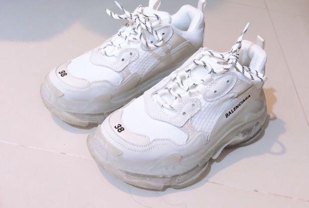 Balenciaga巴黎世家透明老爹鞋