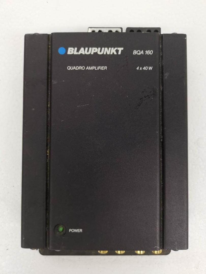 Blaupunkt velocity 2 channel + 4 channel two car amplifier package