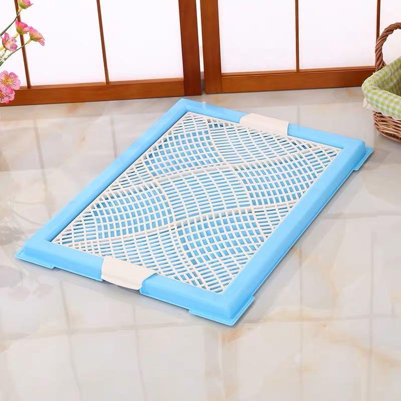 blue pee tray