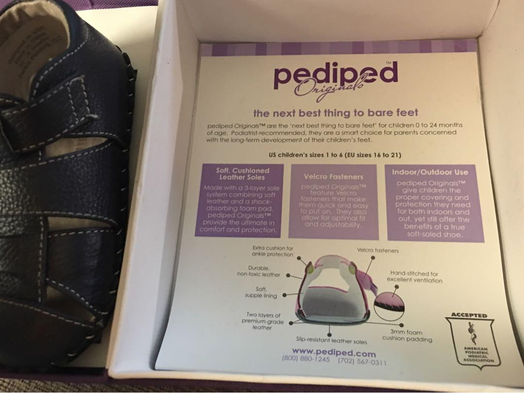 Brand new in packaging pediped Original Baby leather sandals