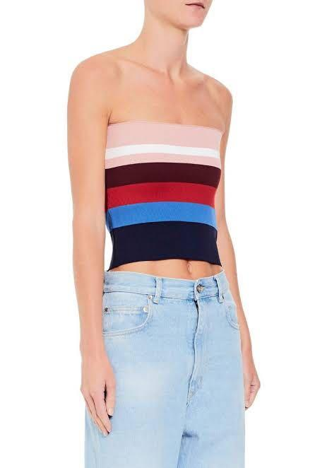 Chosen crepe knit tube top RP $170 - colour way available shown in first photo