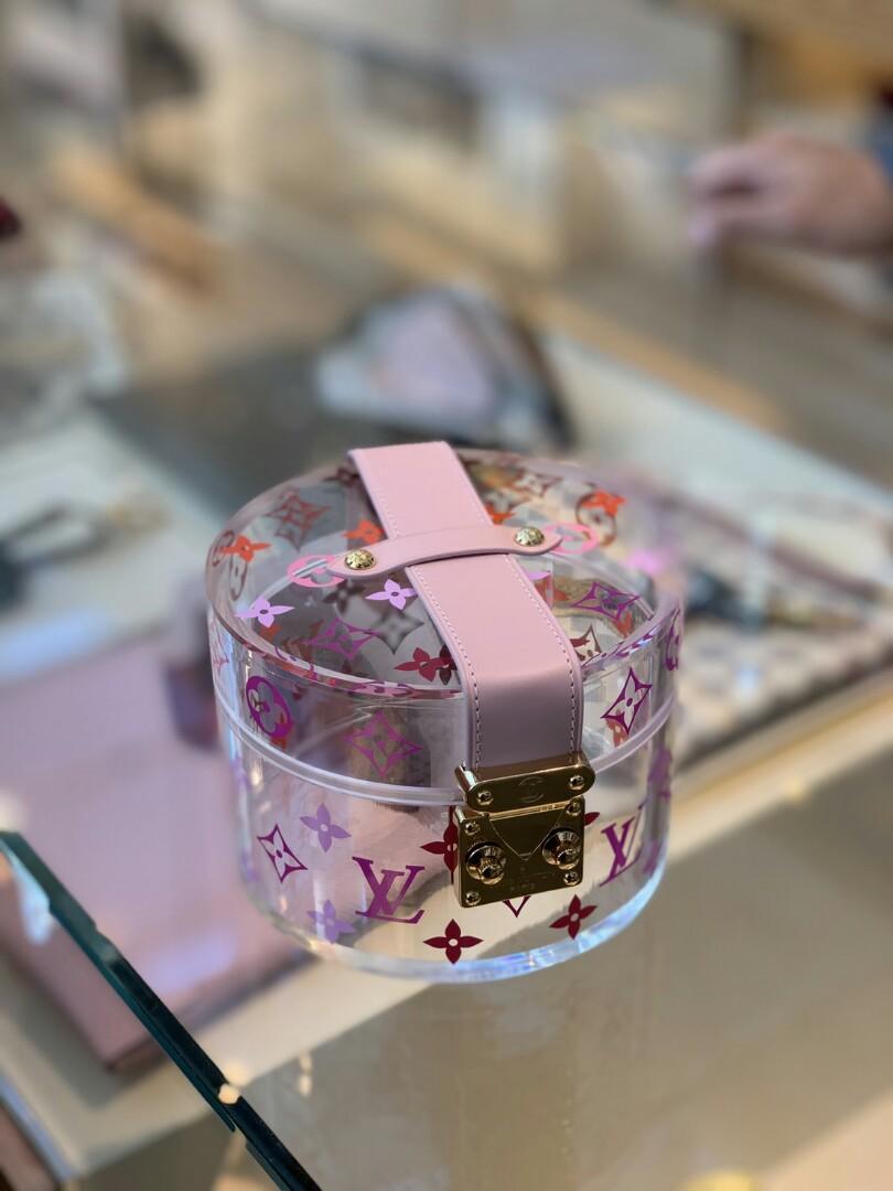 COMING! RARE! LV Boite scott pink Super duper lucu, sold out everywhere