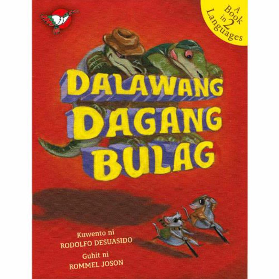 Dalawang Dagang Bulag | Adarna House | English Filipino Bilingual | Children's Book