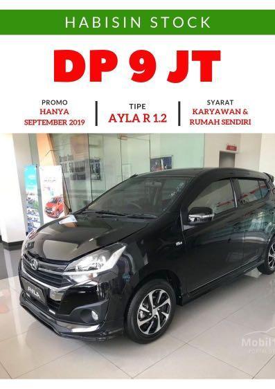 DP MURAH Daihatsu Ayla mulai 9 jutaan. Daihatsu Jakarta