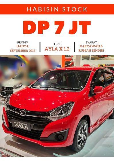 DP MURAH Daihatsu Ayla mulai 7 jutaan. Daihatsu Jakarta