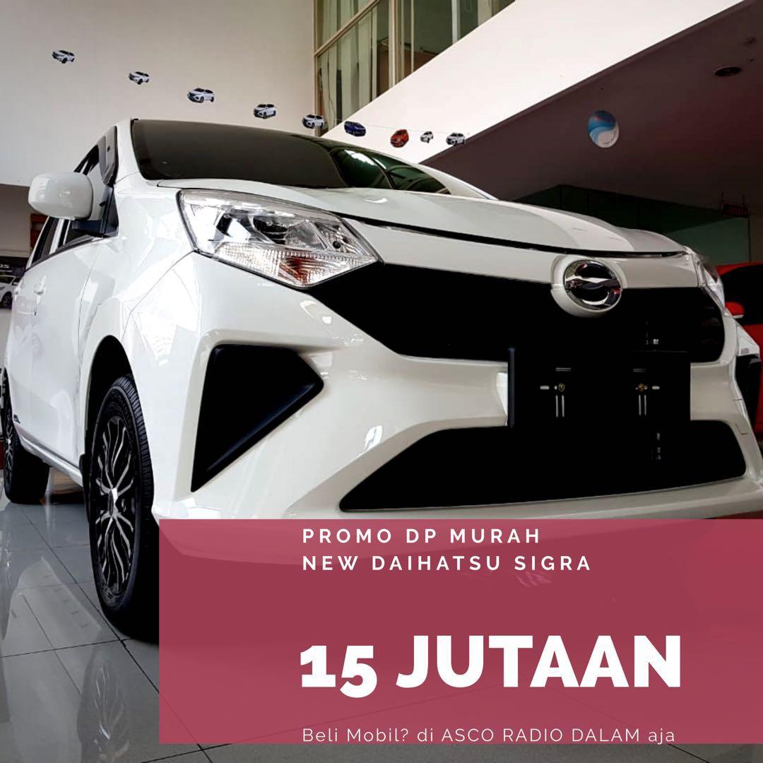 DP MURAH Daihatsu Sigra mulai 15 jutaan. Daihatsu Jakarta