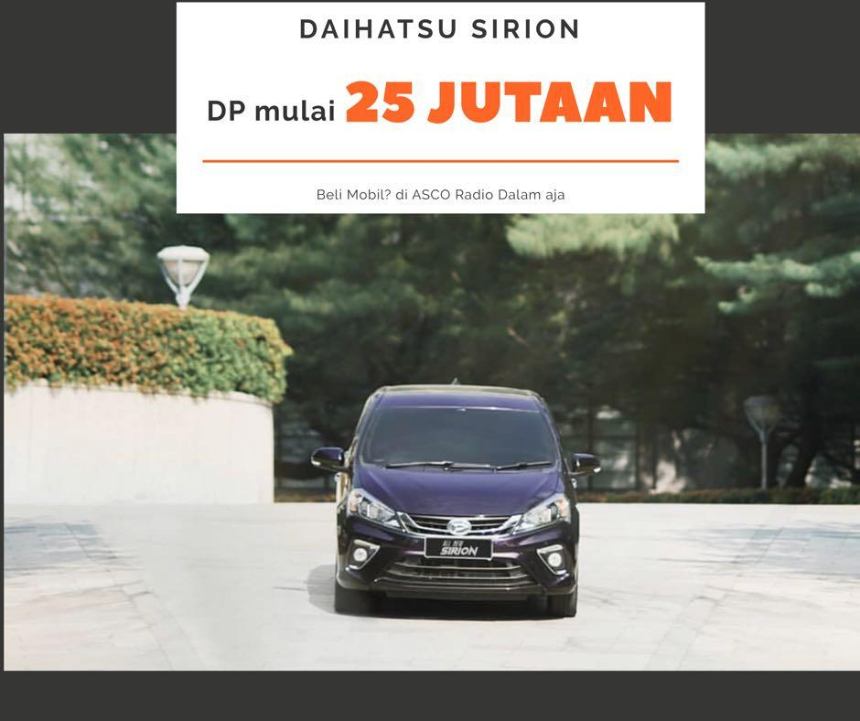 DP MURAH Daihatsu Sirion mulai 25 jutaan. Daihatsu Jakarta