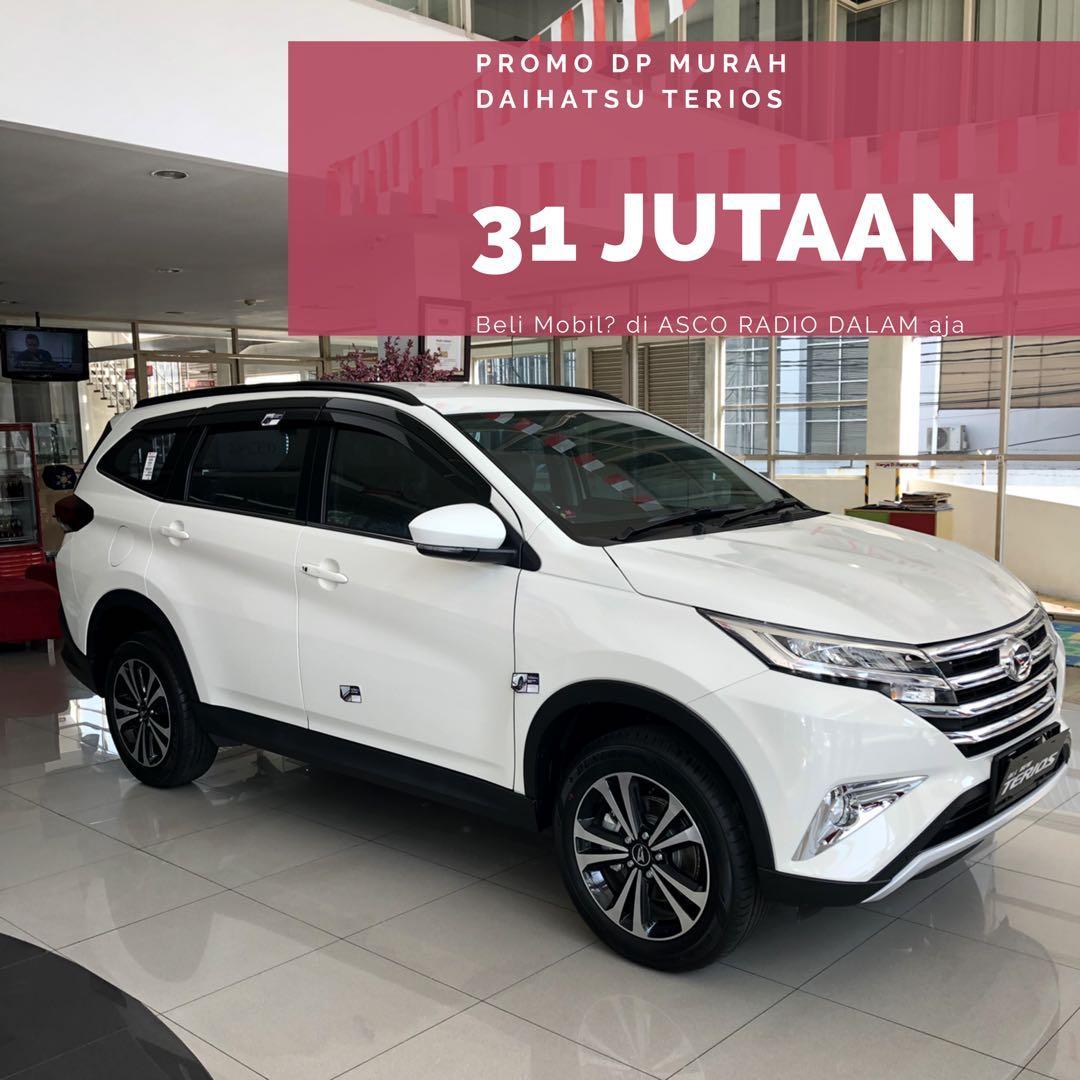 DP MURAH Daihatsu Terios mulai 31 jutaan. Daihatsu Jakarta