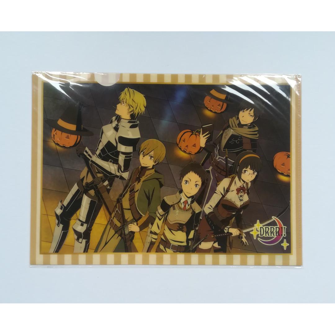 Durarara!! - Mikado Ryugamine, Masaomi Kida, Anri Sonohara, Shizuo Heiwajima, Izaya Orihara (Halloween ver.) - Clear File