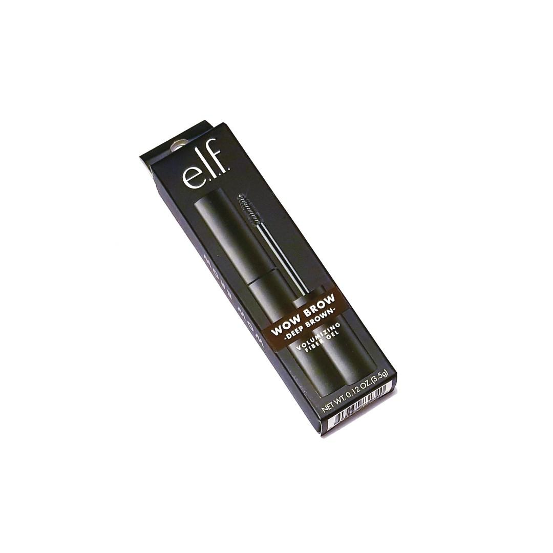 E.l.f Wow Brow Deep Brown Volumizing Fiber Eyebrow Gel