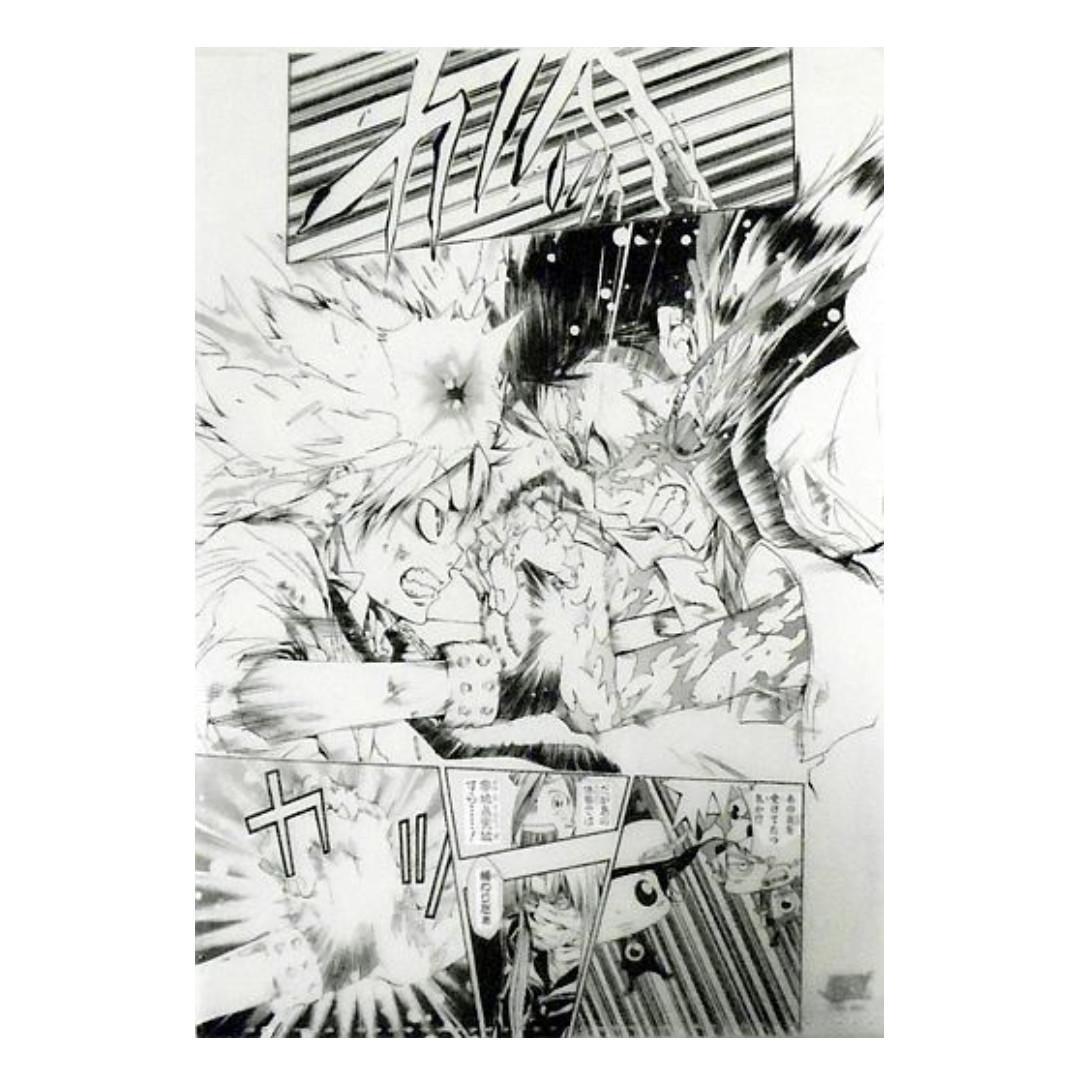 (Exclusive) Katekyo Hitman Reborn! x 50th Anniversary Weekly Shonen Jump Exhibition - Tsunayoshi Sawada & Xanxus - Clear File