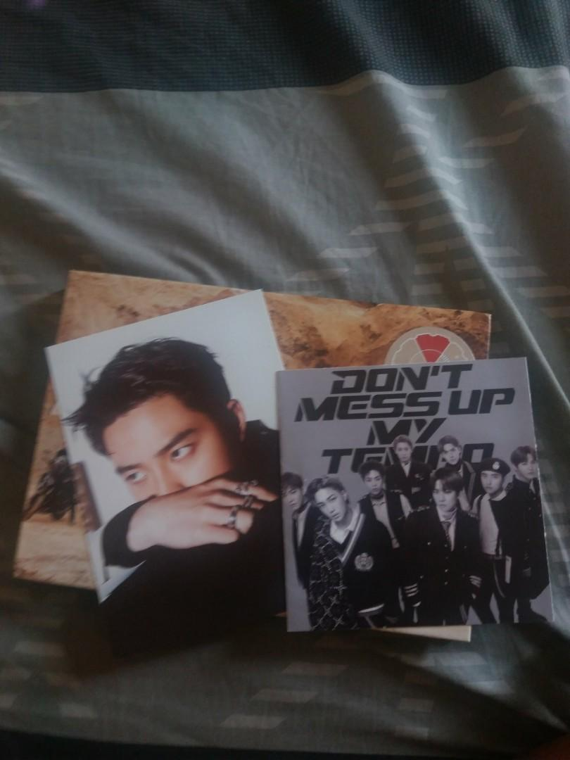 Exo Don't Mess Up My Tempo album condition 9/10. need to sell this album faster i need money