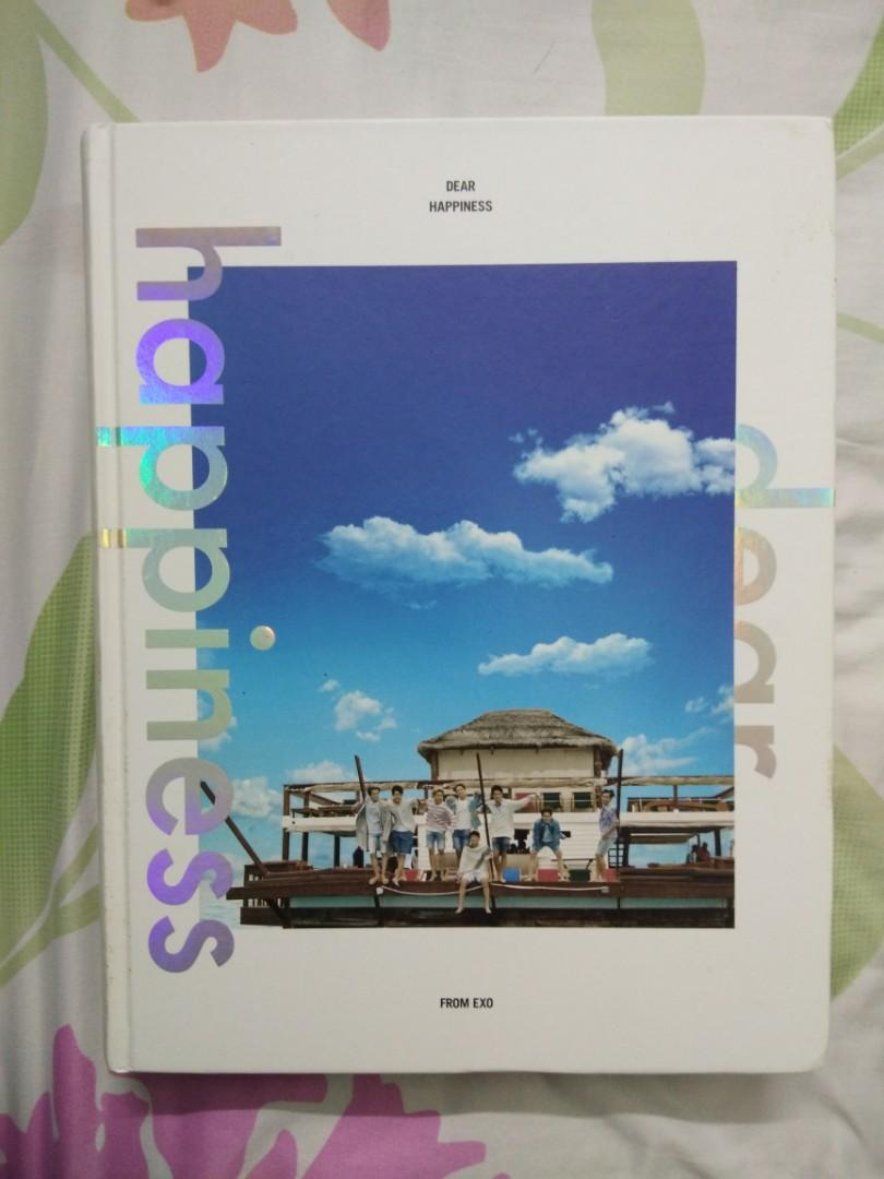 EXO Official Photobook - Dear Happiness