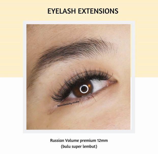 Eyelash extensions premium bulu super lembut