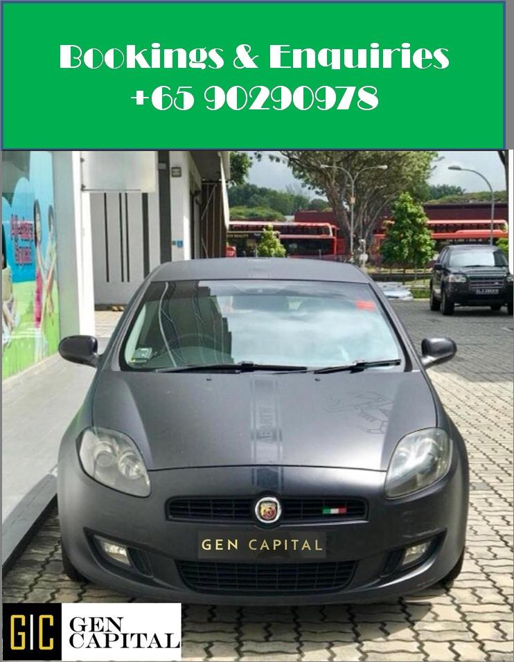 Fiat Bravo 1.4A - Your preferred rental, With the Best service!