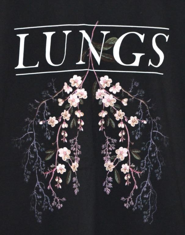 FLORENCE AND THE MACHINE LUNGS BAND CONCERT T-SHIRT TEE XL