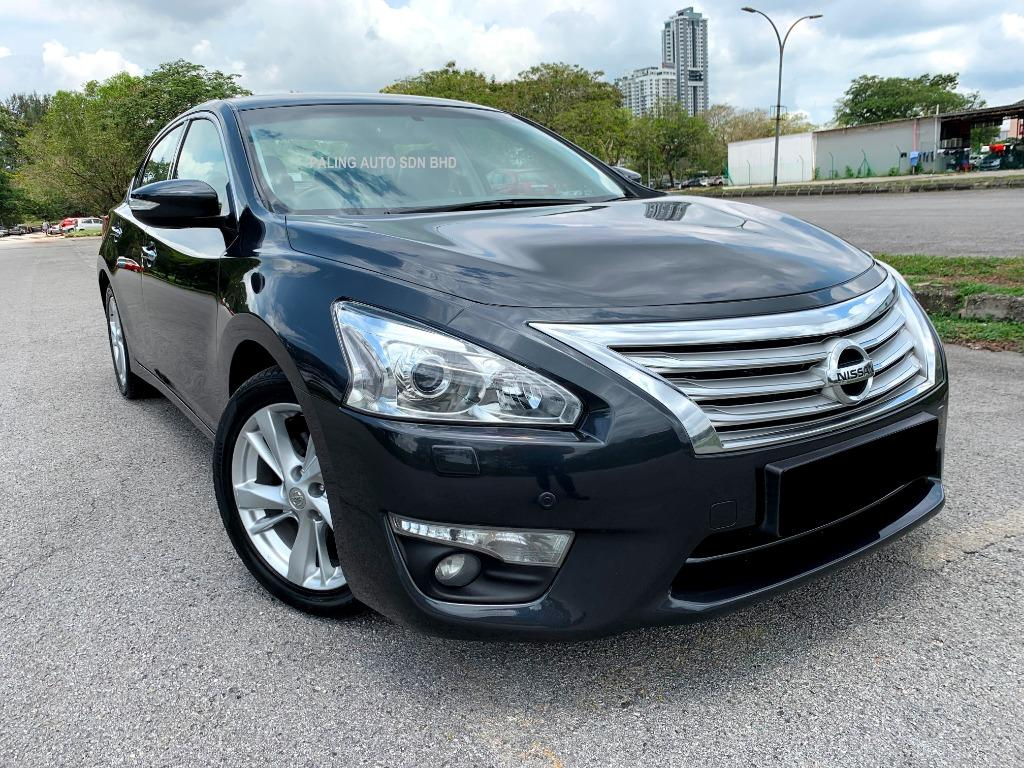 FOR RENT - NISSAN TEANA 2.5 (A) XV LUXURY - SUNROOF/DVD/KEYLESS PUSHSTART/LEATHER - KERETA SEWA